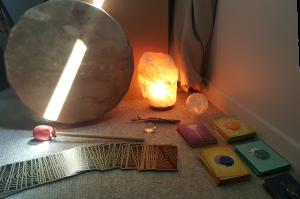 cartomancie, carte, tambour